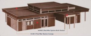 Scenecraft 44-0015 Post War Station Canopy